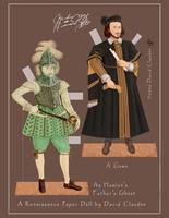 William Shakespeare paper doll, 002