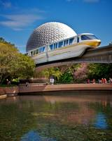 Epcot - Monorail - Your Highway in the Sky