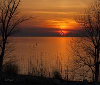 Lake Erie Sunset,2