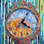 """Four O Five - Hyde Park Clock"" by katiesstudio"