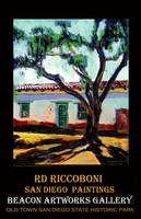Peppertree in Old Town San Diego poster