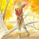"""Autumn ELf"" by Matthew_J_Mordini"