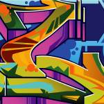 """Graffiti L"" by Bluemos"