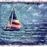 """America Sails II"" by Schazel"