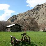 """The Hanna cabin at Kirkwood Ranch in Hells Canyon"" by eye4nature"