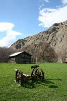 The Hanna cabin at Kirkwood Ranch in Hells Canyon