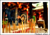 Incense Stick (Agarbathi) Bokeh !!