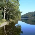 """Reflections in Llyn Crafnant"" by conwytrees"