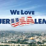 """We Love Jerusalem"" by PostersOfIsrael"