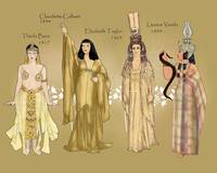 Four Film Cleopatras
