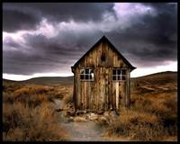 storm over bodie
