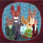 """Animals family"" by lukaluka"