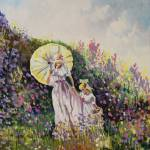 """Lavender Stroll"" by GarrettAnthony"