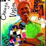 """Obama Art, piece 2 or a serie"" by mcturgeon"