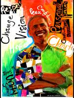 Obama Art, piece 2 or a serie