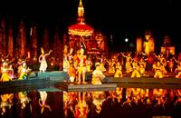 Sukhothai Loy Krathong Festival Light and Sound