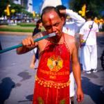 """Phuket Vegetarian Festival street procession"" by jahenig"
