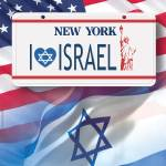 """ny license car"" by PostersOfIsrael"