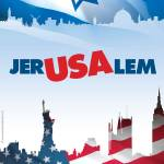 """Jer-USA-lem"" by PostersOfIsrael"