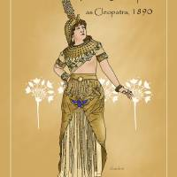 Fannie Davenport as Cleopatra (1890) Art Prints & Posters by C. David Claudon