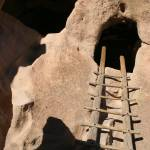 """Bandelier Pueblo ladder_2"" by eye4nature"