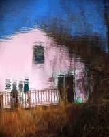 Reflection of a Little Pink House