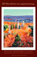RD Riccoboni New England Paintings Poster