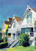 Bankers Hill Victorian Cottages by RD Riccoboni