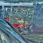 """Blue Rod Motor"" by flashesofspeed"