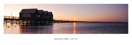 Sunset over Busselton Jetty