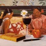 """Wine Glass & Gauguin"" by danielmontoya"