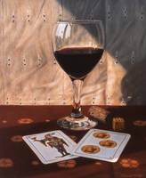 Wine Glass and Playing Cards