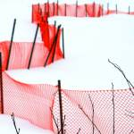 """Red Heart-Shaped Reservoir Barrier"" by protophotogsl"