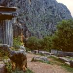 """The Sacred Way in Springtime, Delphi, Greece 1960"" by PriscillaTurner"