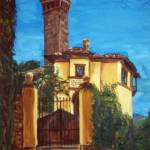 """Villa In Fiesole"" by randomlyvague"