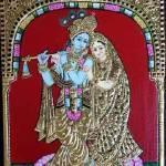 """Krishna Flute"" by tanjore"