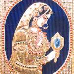 """Indian Lady"" by tanjore"