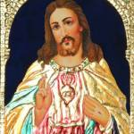 """Jesus"" by tanjore"