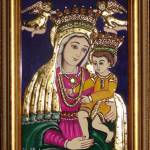 """Mary with Jesus"" by tanjore"