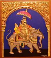 Maharaja on Elephant