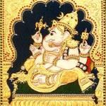 """Vinayaka Ganapati Elephant God"" by tanjore"