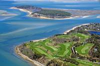 Eastward Ho Country Club Golf Course Aerial Photo