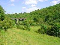 Across the Dale to Monsal Viaduct  (11439-RDA)