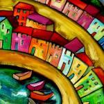 """""""MANTOVA   -   ITALY"""" by saracatenacolorfulart"""