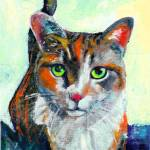 """Hello There, Cat Portrait of Kate by RD Riccoboni"" by RDRiccoboni"