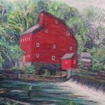 """Fishing by the Red Mill"" by richardnowak"