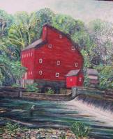 Fishing by the Red Mill