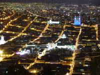 Quito Ecuador at Night