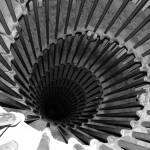 """Spiral Staircase in Lublijana"" by DonnaCorless"