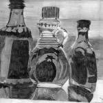 """Bottles In Sunlight"" by gretassister"